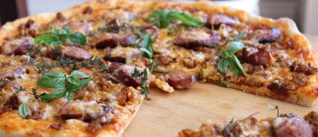 Proteinpizza fra Børge