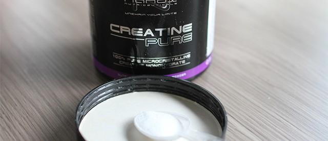 Kreatin –  Gir styrke og muskelvekst