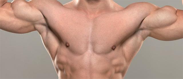 Slik får du større brystmuskler