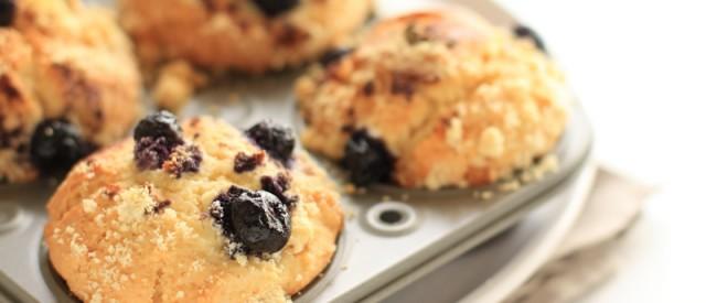 Muffins av blåbær