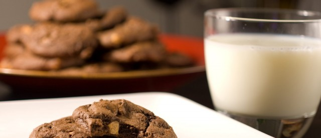Melkesjokoladecookies
