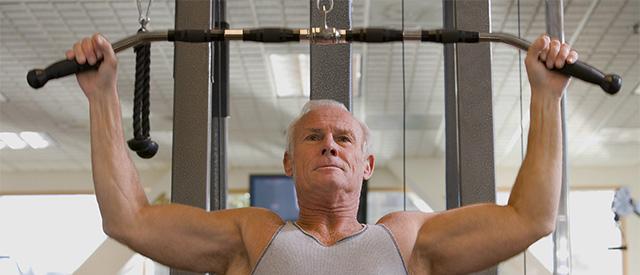 Fysisk aktivitet viktig for eldre mennesker