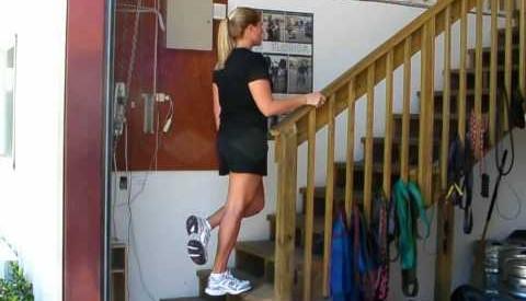 Tåhev i trapp