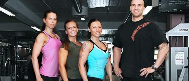 7 jenters vei mot NM i bodyfitness