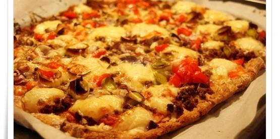 Kristines pizza