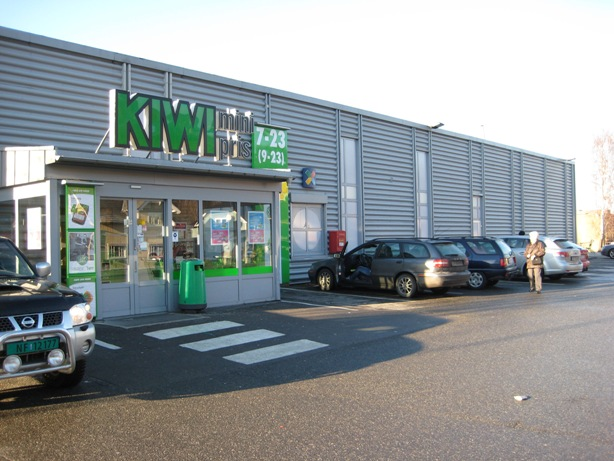 Kiwi bøleveien butikk
