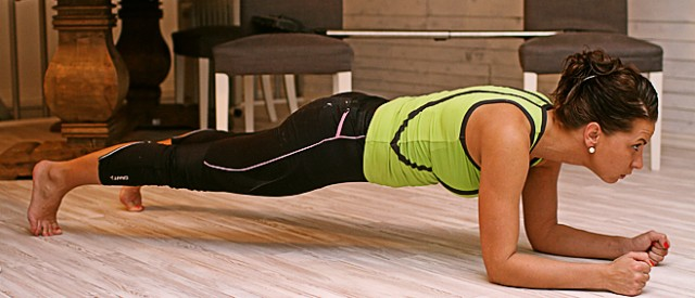 5 gode grunner til å trene planke