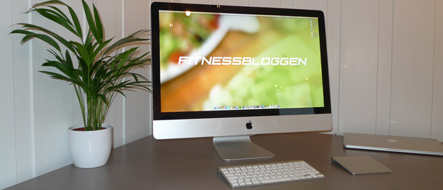 Fitnessbloggen skrivebordsbakgrunn