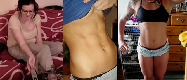 Madelen (20) gikk ned 25 kilo, før hun bygde muskler og gikk opp 10 kg