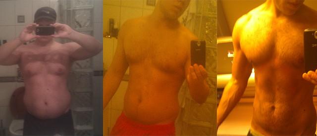Slik klarte Roger (25) å gå ned 50 kilo på under 1 år