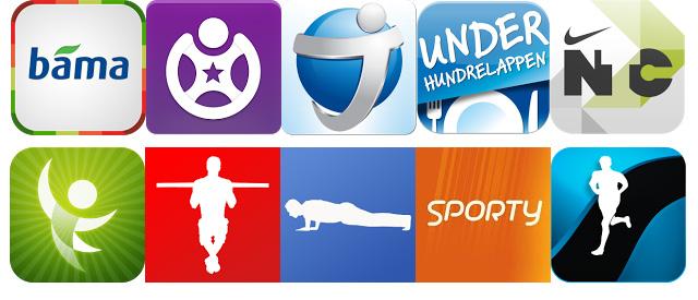 De 15 beste gratisappene for trening, kosthold og helse
