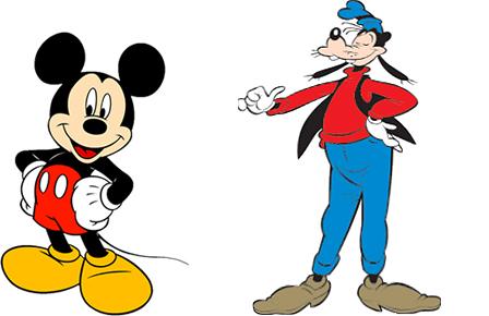 Mikke mus og Langbein burde ikke trene med samme teknikk.