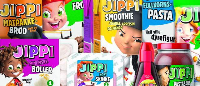 NorgesGruppen lanserer JIPPI, sunnere matvarer for barnefamilier