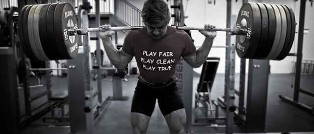 Landslagsutøver André Midtby er klar for Nordisk mesterskap i styrkeløft