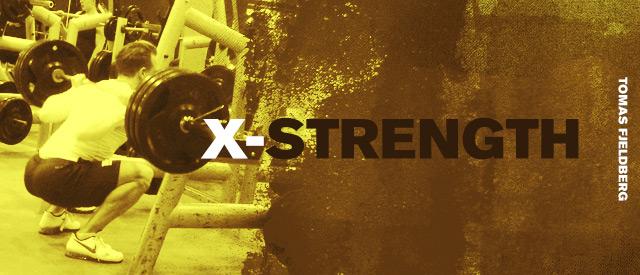 X-Strength er treningsprogrammet for deg som vil bli sterk