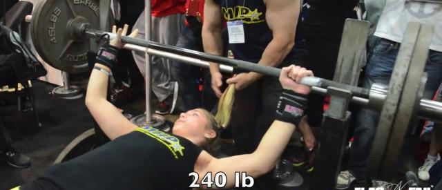 110 kilo i benkpress og 13 år gammel