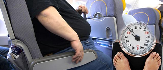 Det blir dyrere for tykke folk å fly