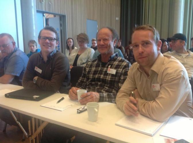 Anders G. Kinderg, Dag Viljen Poleszynski og Jan Mesicek - alle tre sentrale personer i Kostreform for bedre helse.