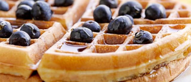 Prøv disse søte vaniljevaflene