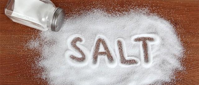 Ingen grunn til å spise mye mindre salt
