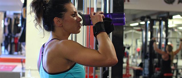 Proteinshaken må ikke drikkes umiddelbart etter treningen