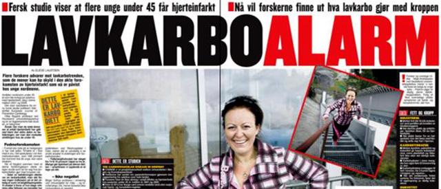 VG: «hjertealarm» etter lavkarbobølge