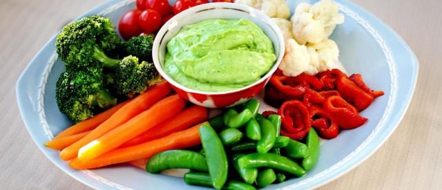 5 fordeler med grønnsaker på menyen