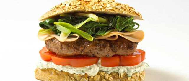Bohemian burger