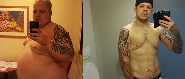 Slik gikk Kristoffer ned 67 kg på 1,5 år
