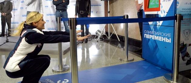 I Russland kan du nå kjøpe togbilletter med 30 dype knebøy