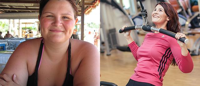 Les hvordan Cecilie (27) kvittet seg med hele 70kg