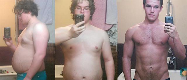Kim (21) gikk ned over 30 kilo, ble i superform og fikk livet tilbake