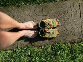 Fivefingers - Vibrams, blir stadig mer populært. Perfekt for løping i skogen?