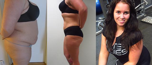 Helene veide 141 kilo, men sa nei til fedmeoperasjon. I dag er hun et helt nytt menneske