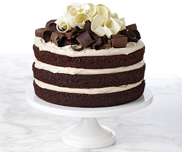 Ingen pakker med fiberhusk ble skadet under bakingen av denne kaken. Tror jeg.