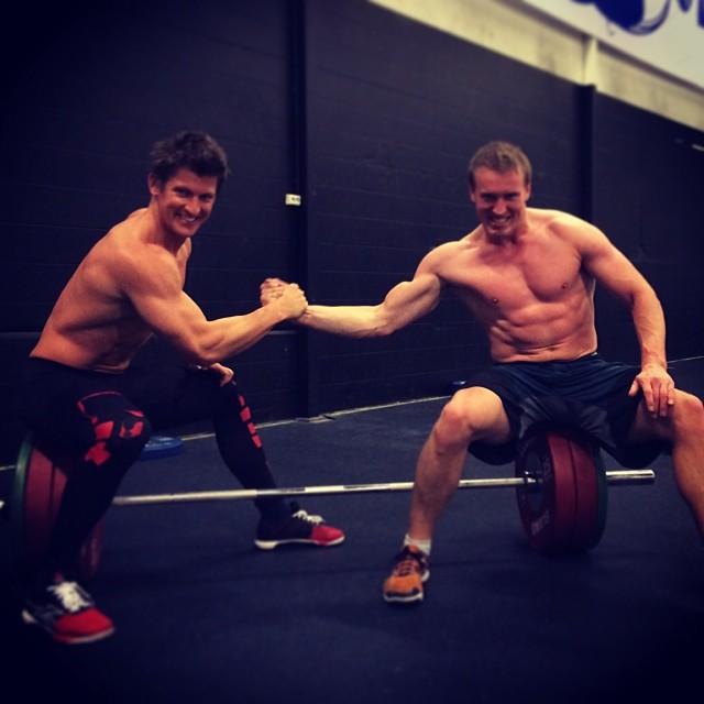 """To stolte rogalendinger, klare til å gi alt for en plass i CrossFit """"EM"""", CrossFit Regionals i mai"""