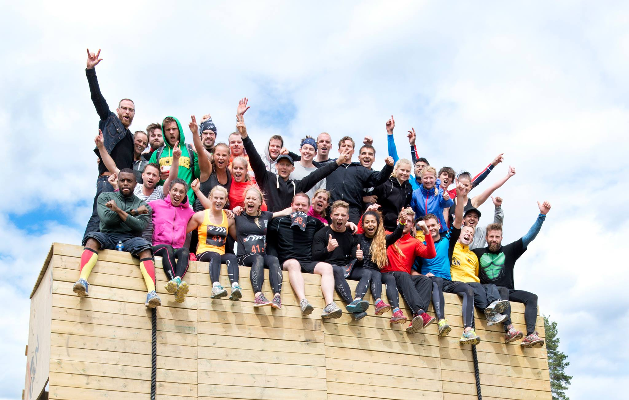 CrossFit Oslo stilte med 12 ulike lag under X-Runs lagdag (lørdag). Individuelle løpere løp søndag.