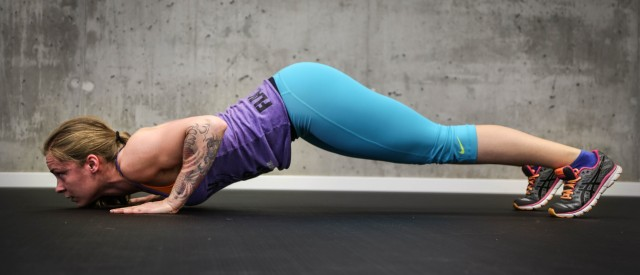 Tren øvre bryst effektivt med pushups!