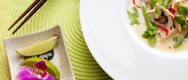 En varmende eksotisk suppe til kalde høstdager – Tom Kha Gai