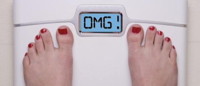 Dette forteller tallet på vekta deg