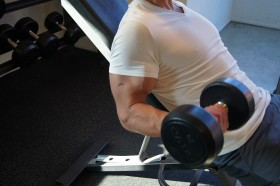 Incline Biceps Curl