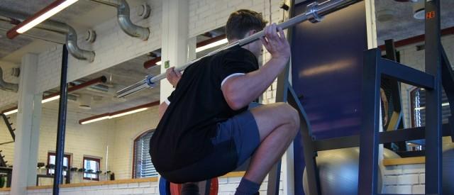 Dette gjør du når knebøy er utelukket fra treningsprogrammet