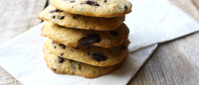 Enkle, sukkerfrie sjokolade-cookies