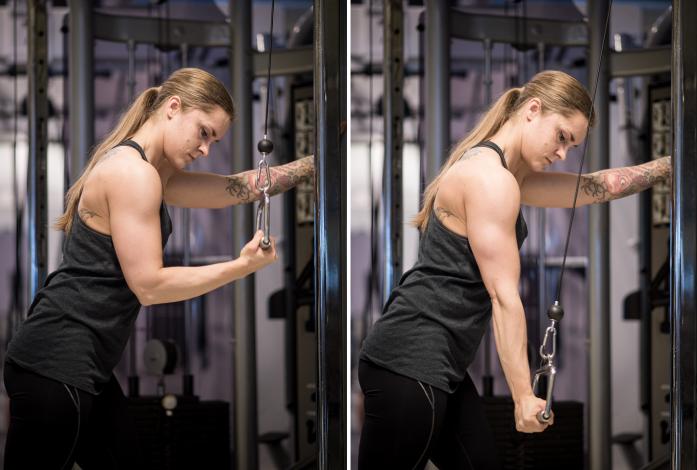 Camilla Hoel pushdown