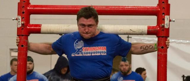 Strongman og styrkeløfter Jørgen Aukland