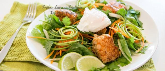Middagstips: Havrestekt laks med smaker av asia