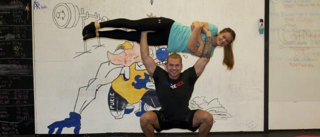 Kjæresteparet Jacqueline og Ole Morten gikk fra fitness til CrossFit