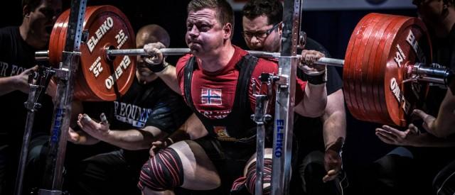 Norge stiller sterkt under VM i styrkeløft! – Oppdatert med resultater