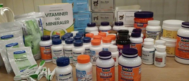 Kosttilskuddskampen – på ingen måte over