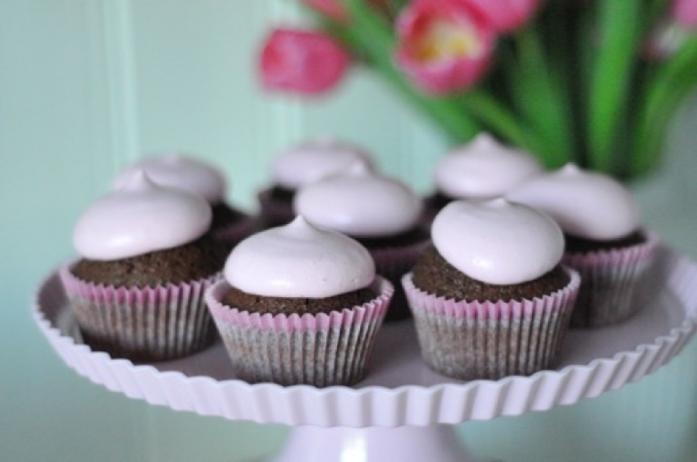 ZERoh sjokoladecupcakes